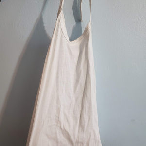 Urban Outfitters Haulter white tank top